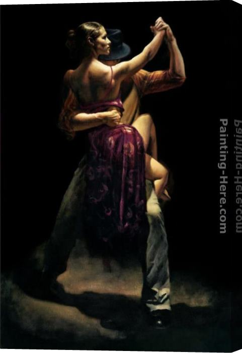 Hamish Blakely Between Expressions Stretched Canvas Painting