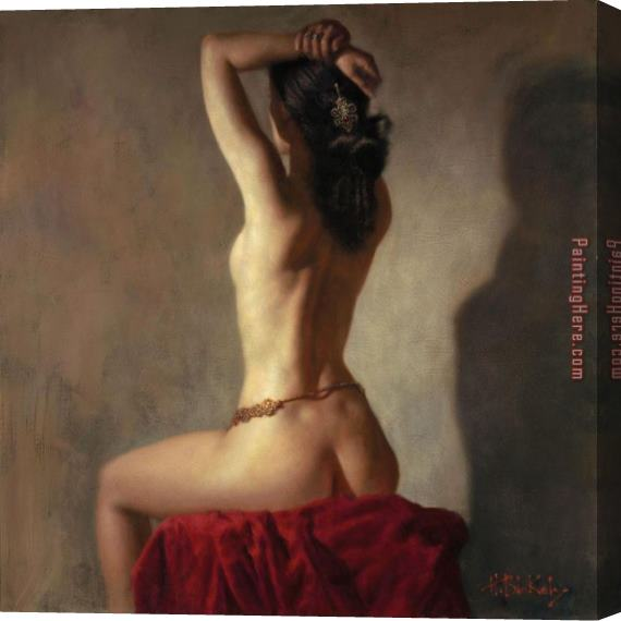 Hamish Blakely Delilah's Lullaby Stretched Canvas Painting