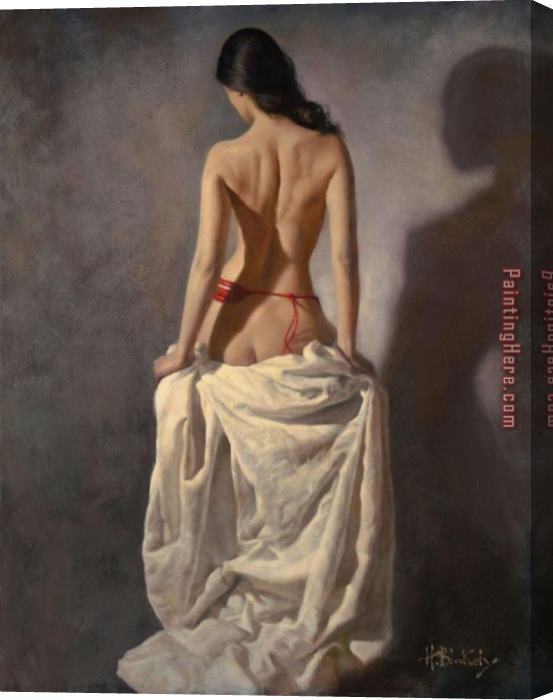 Hamish Blakely Inamorata Stretched Canvas Painting