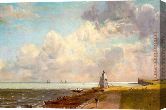 John Constable Harwich Lighthouse Stretched Canvas Painting