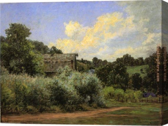 John Ottis Adams The Grist Mill Stretched Canvas Painting