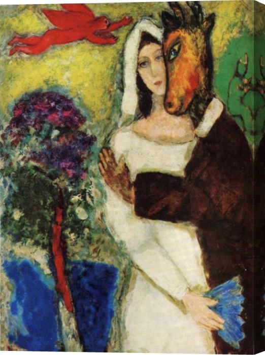 Marc Chagall Midsummer Night's Dream Stretched Canvas Painting