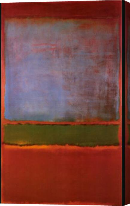 Mark Rothko Violet Green and Red 1951 Stretched Canvas Painting