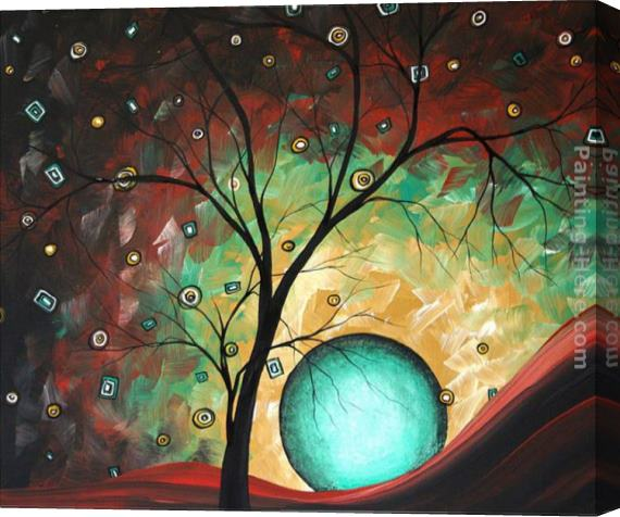 Megan Aroon Duncanson Pinpoint Stretched Canvas Painting