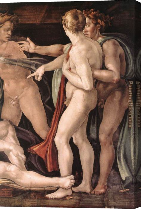 Michelangelo Buonarroti Simoni43 Stretched Canvas Painting