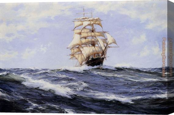 Montague Dawson The Torrens Stretched Canvas Painting