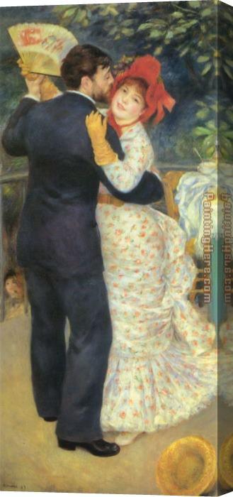 Pierre Auguste Renoir Dance in the Country Stretched Canvas Painting