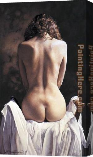 Steve Hanks Centered Stretched Canvas Painting