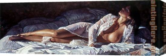 Steve Hanks Love for the Unattainable Stretched Canvas Painting