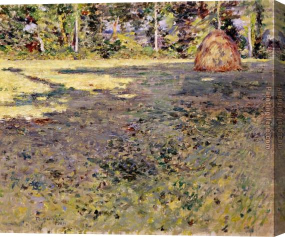 Theodore Robinson Afternoon Shadows Stretched Canvas Painting