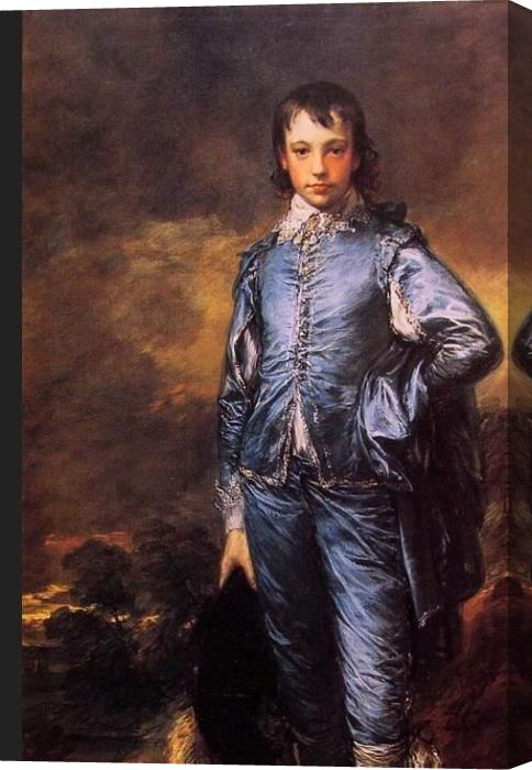 Thomas Gainsborough The Blue Boy Stretched Canvas Painting