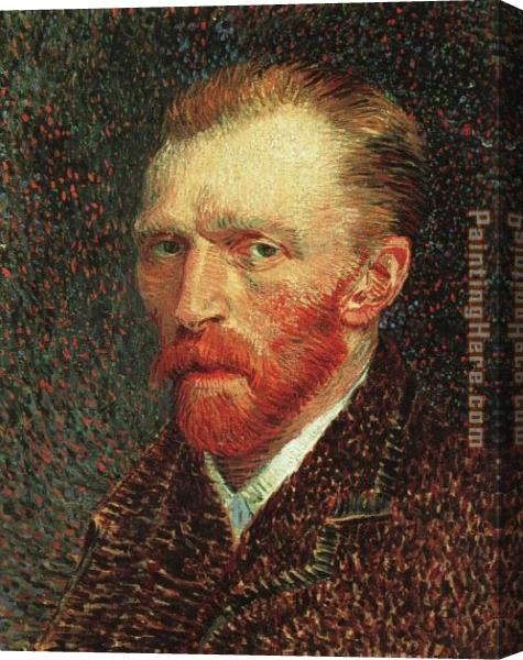 Vincent van Gogh Self-Portrait Stretched Canvas Painting