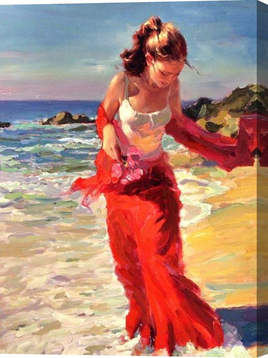 Vladimir Volegov Beyond the Sea Stretched Canvas Painting