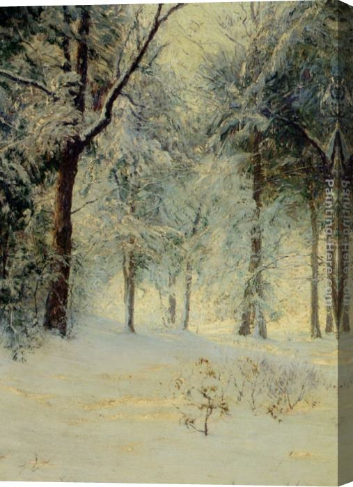 Walter Launt Palmer Sunshine After a Snowstorm Stretched Canvas Painting
