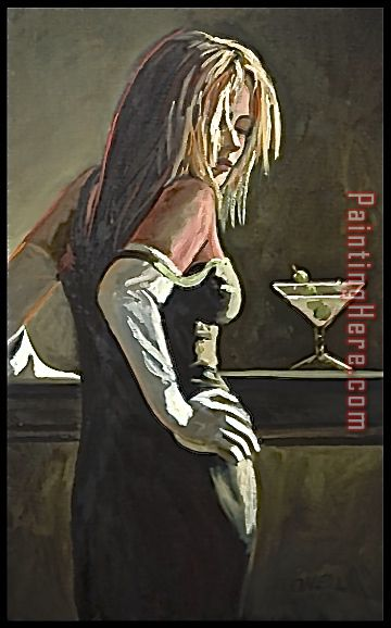 Dirty Martini painting - 2017 new Dirty Martini art painting