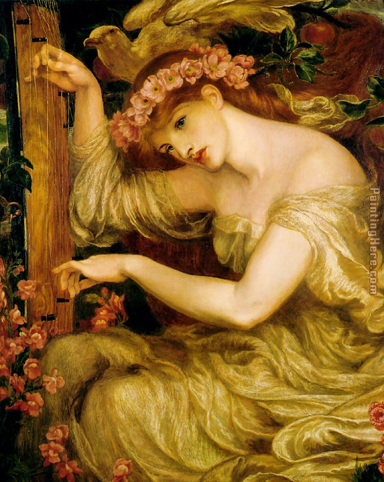 A Sea Spell painting - Dante Gabriel Rossetti A Sea Spell art painting