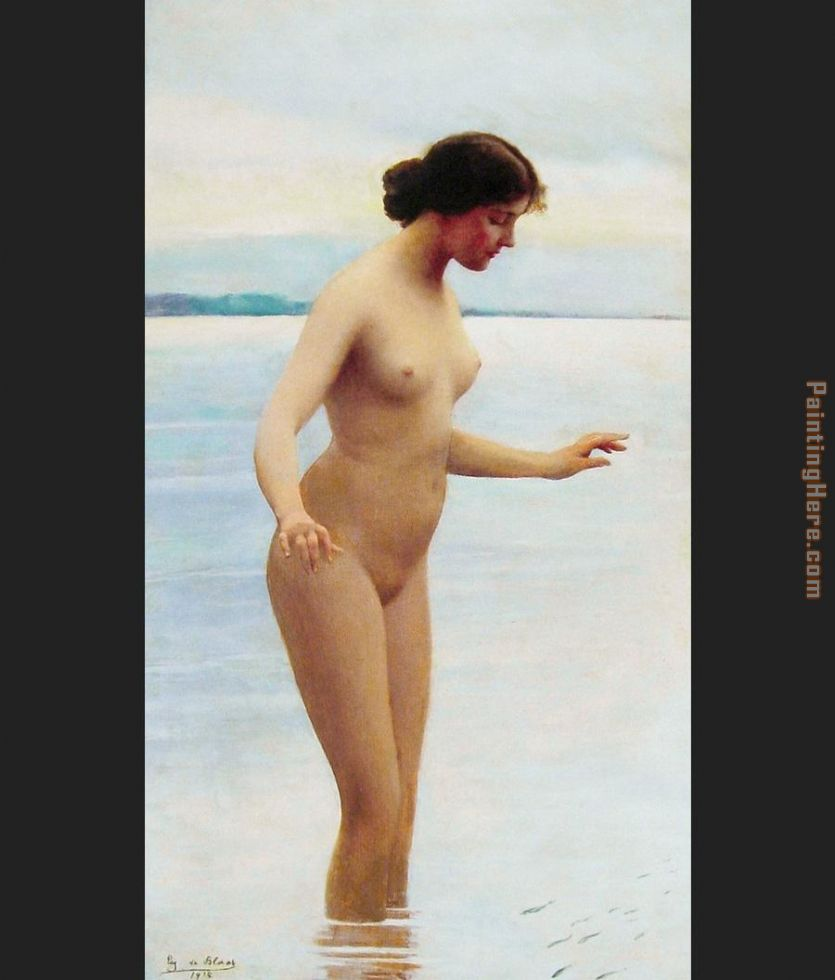 In the Water painting - Eugene de Blaas In the Water art painting