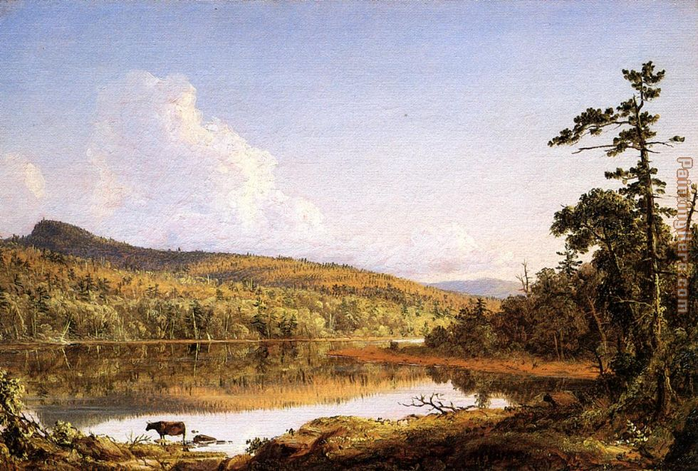 Frederic Edwin Church North Lake Art Painting