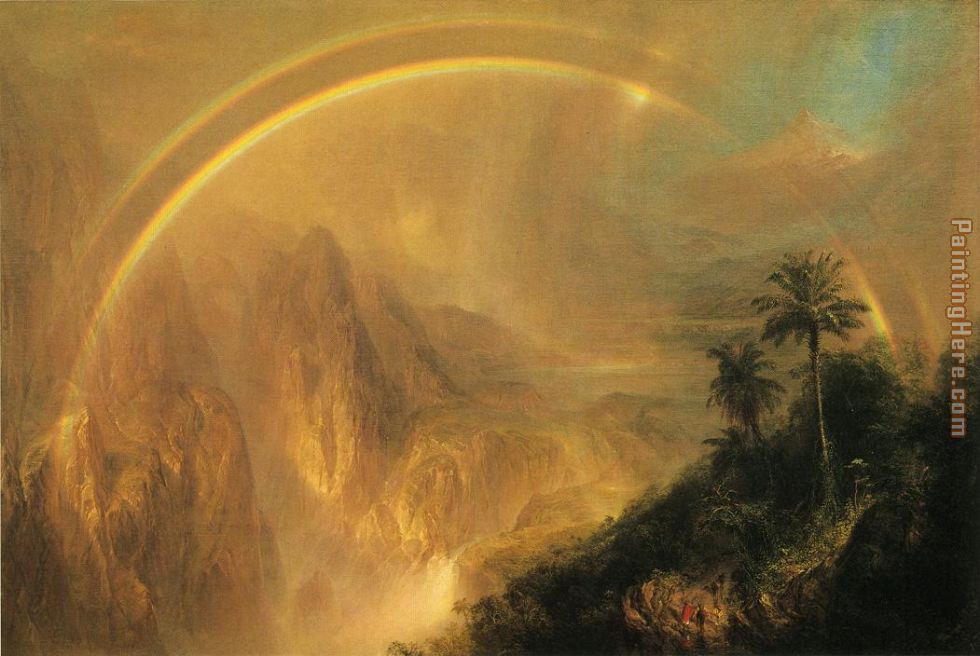 Frederic Edwin Church Rainy Season in the Tropics Art Painting