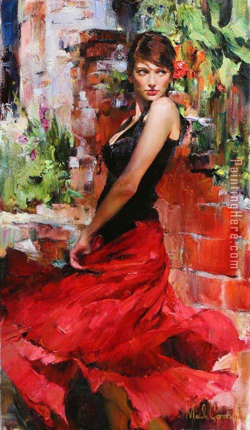 Red Passion painting - Garmash Red Passion art painting