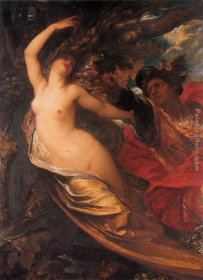 George Frederick Watts Orlando Pursuing the Fata Morgana Art Painting