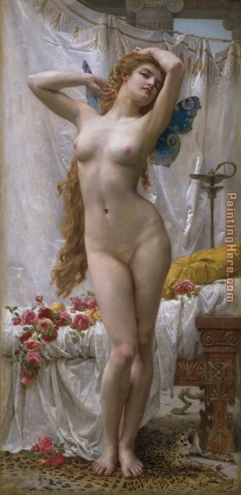 Guillaume Seignac The Awakening of Psyche Art Painting
