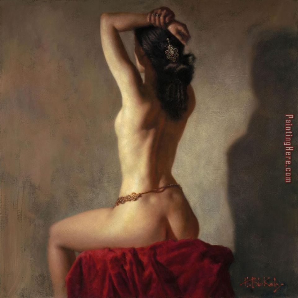 Delilah's Lullaby painting - Hamish Blakely Delilah's Lullaby art painting