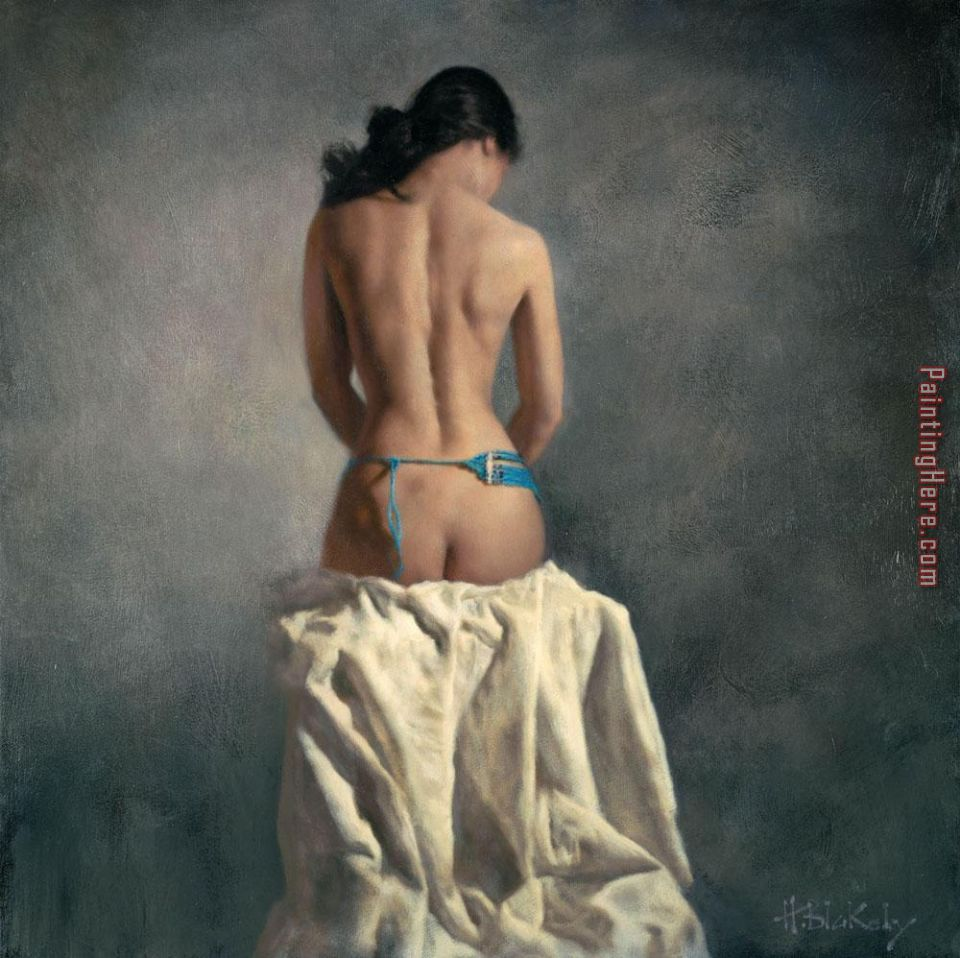 Fanciula Gentile painting - Hamish Blakely Fanciula Gentile art painting