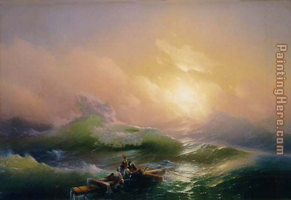 Ivan Constantinovich Aivazovsky The Ninth Wave Painting anysize 50 ...