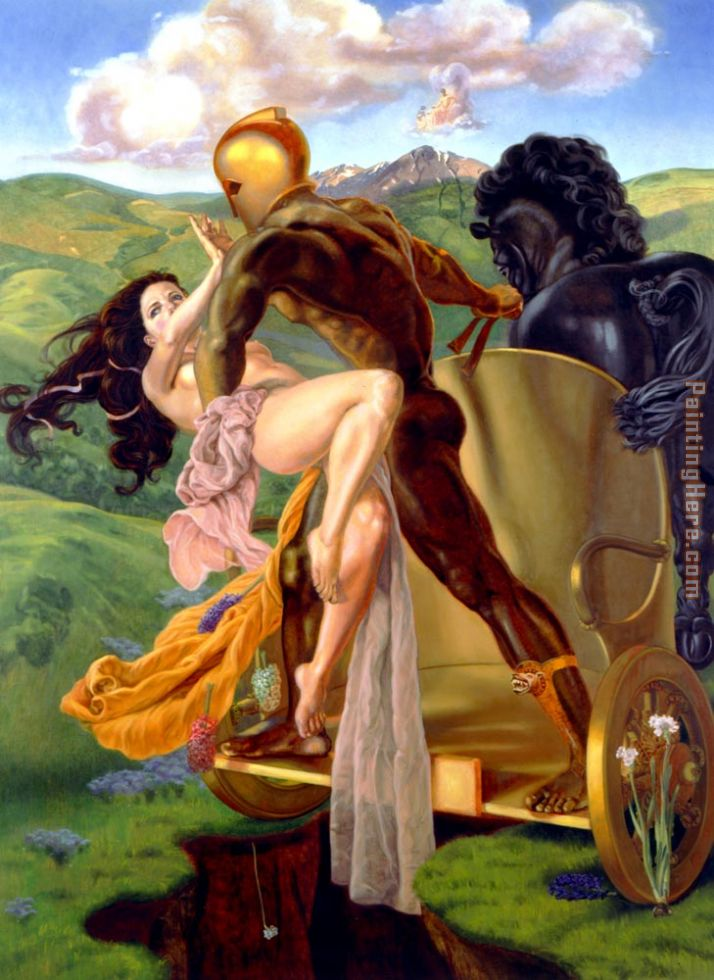 Rape Of Persephone painting - James Childs Rape Of Persephone art painting