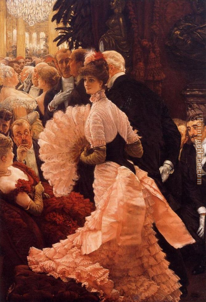 James Jacques Joseph Tissot A Woman of Ambition Art Painting