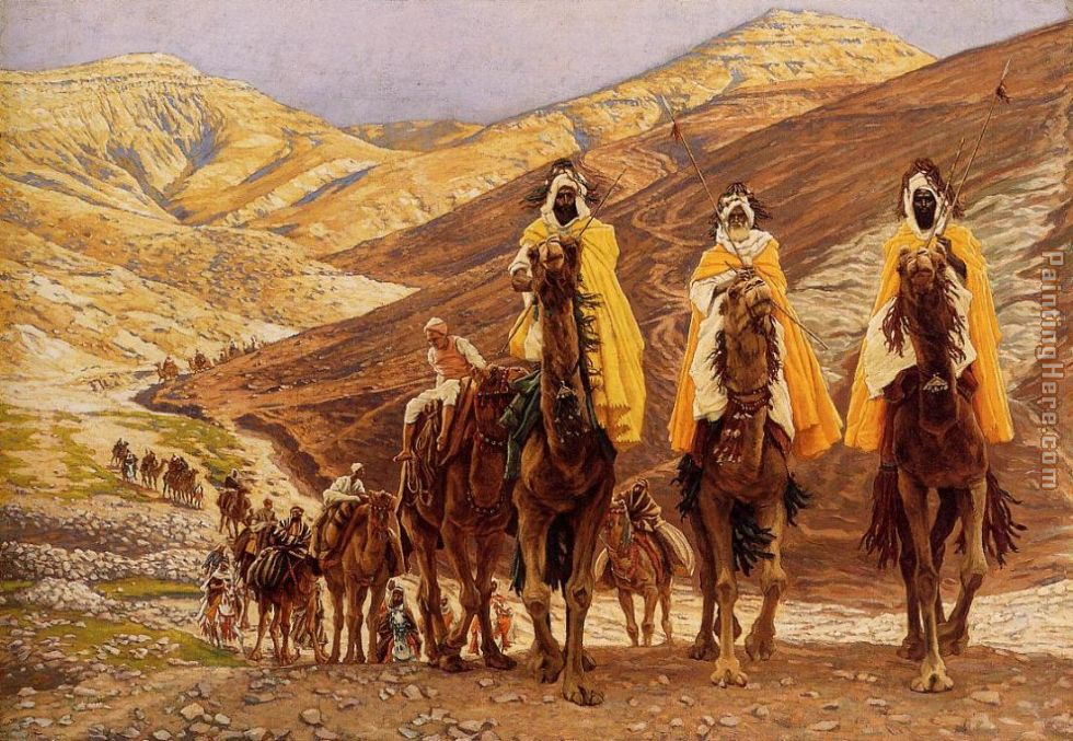 Journey of the Magi painting - James Jacques Joseph Tissot Journey of the Magi art painting
