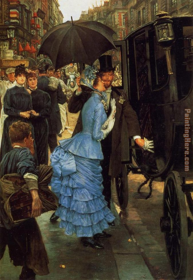 The Bridesmaid painting - James Jacques Joseph Tissot The Bridesmaid art painting