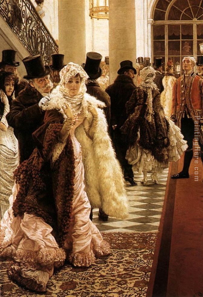 The Woman of Fashion painting - James Jacques Joseph Tissot The Woman of Fashion art painting