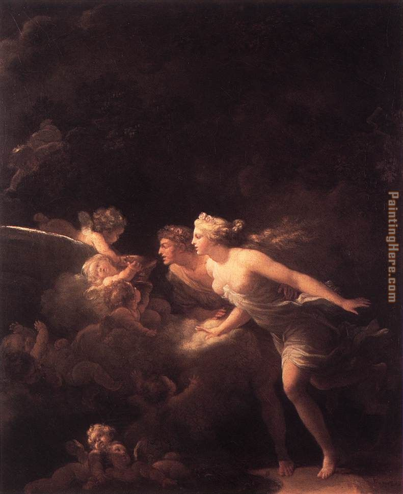 The Fountain of Love painting - Jean-Honore Fragonard The Fountain of Love art painting