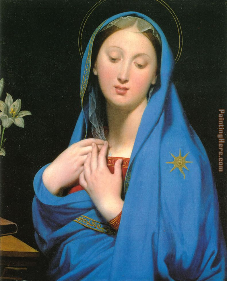 Virgin of the Adoption painting - Jean Auguste Dominique Ingres Virgin of the Adoption art painting