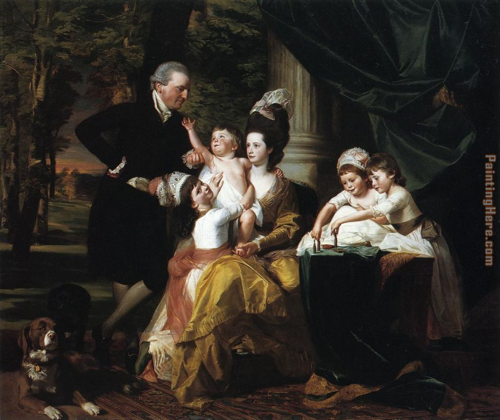 New Jersey Home Painting From J S Painting: Paintings By John Singleton Copley