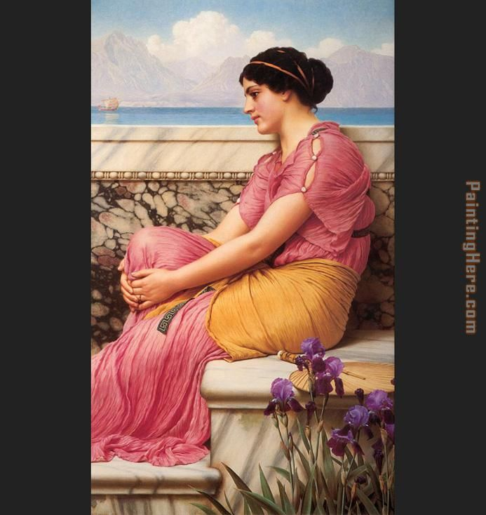 Absence Makes the Heart Grow Fonder painting - John William Godward Absence Makes the Heart Grow Fonder art painting