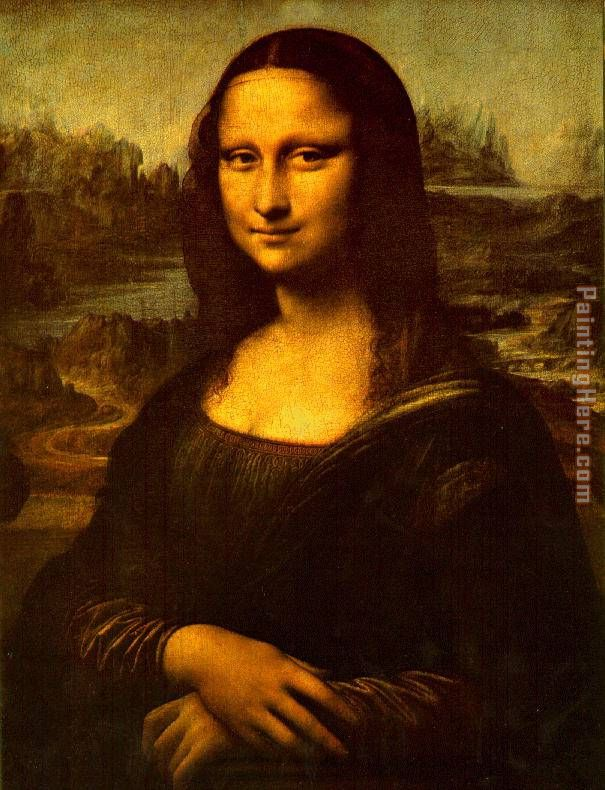 Mona Lisa Smile painting - Leonardo da Vinci Mona Lisa Smile art painting