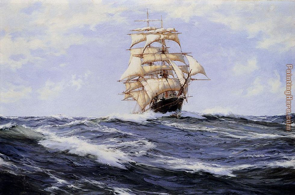 Montague Dawson The Torrens Art Painting