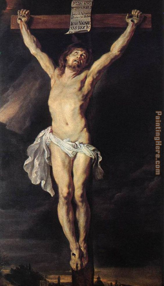 The Crucified Christ painting - Peter Paul Rubens The Crucified Christ art painting