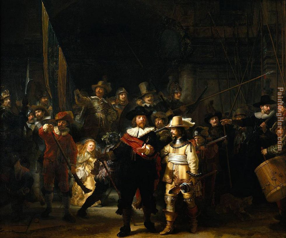 rembrandt nightwatch painting painting - Rembrandt rembrandt nightwatch painting art painting