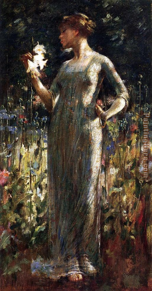 A King's Daughter painting - Theodore Robinson A King's Daughter art painting