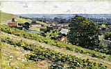 From the Hill Giverny by Theodore Robinson
