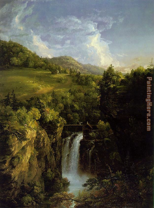 Thomas Cole Genesee Scenery Art Painting