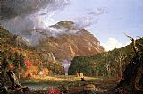 The Notch of the White Mountains (Crawford Notch) by Thomas Cole