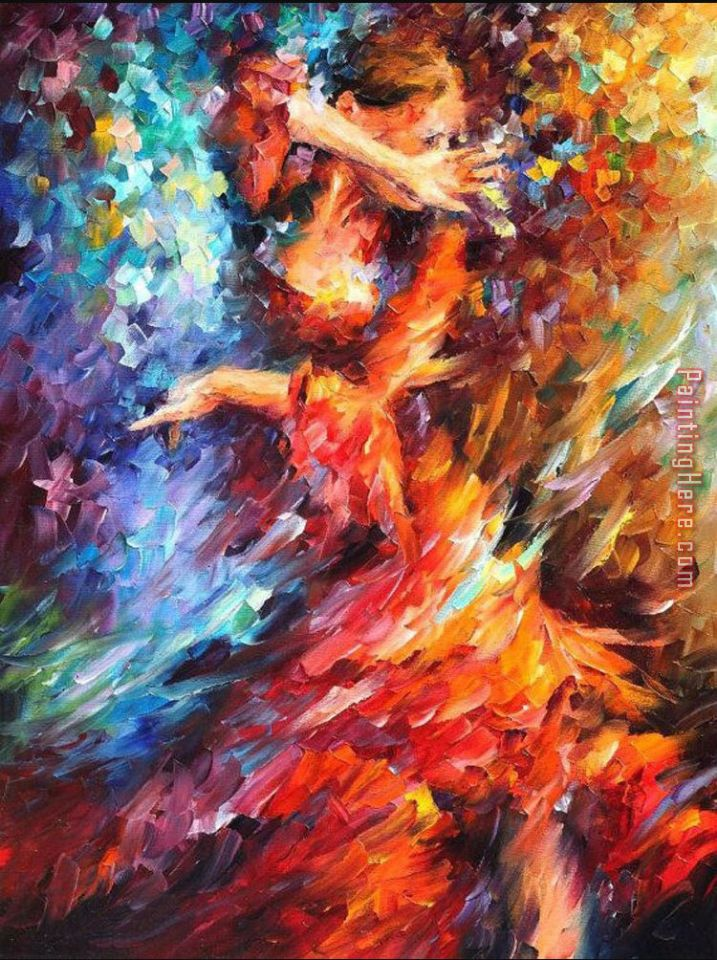 Latina Dancing painting - Unknown Artist Latina Dancing art painting