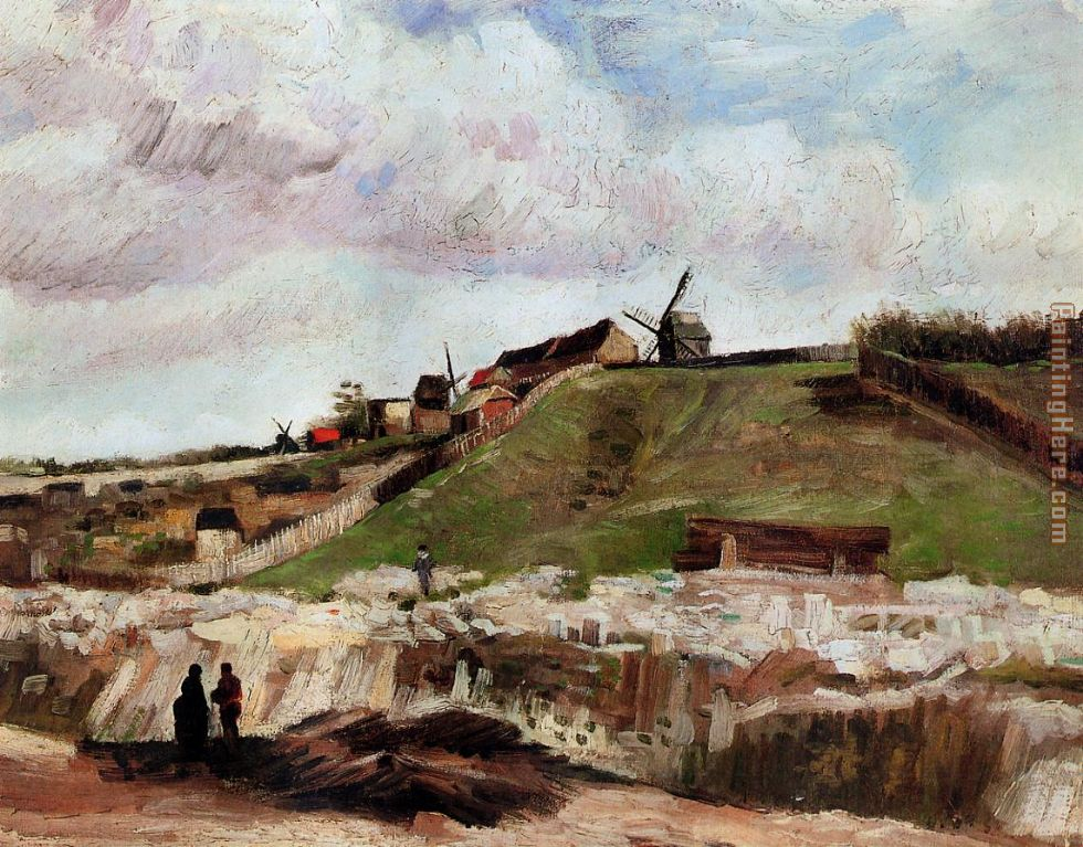 Montmartre the Quarry and Windmills