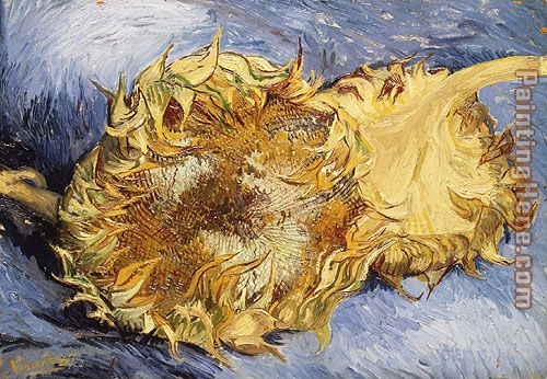 Sunflowers painting - Vincent van Gogh Sunflowers art painting