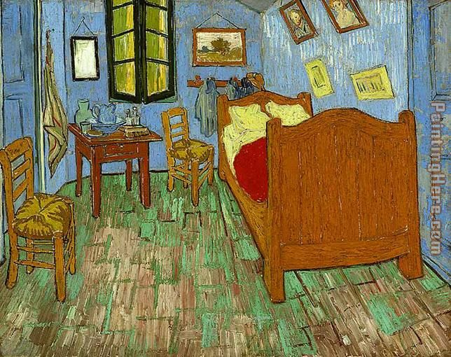 The Bedroom Vincent Van Gogh